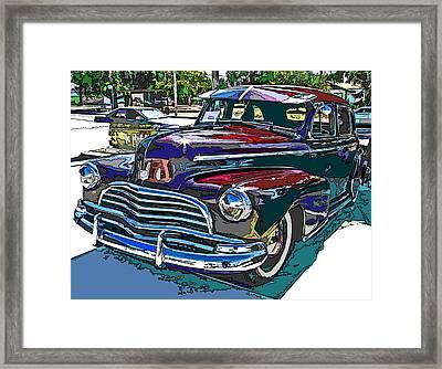 1946 Chevrolet Framed Print by Samuel Sheats