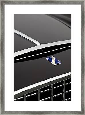 1948 Talbot-lago T26 Grand Sport Franay Cabtiolet Hood Emblem Framed Print by Jill Reger