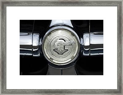 1950 Pontiac Grille Emblem 2 Framed Print by Jill Reger