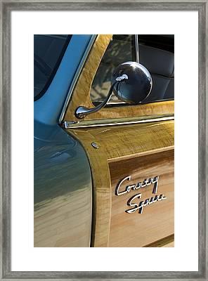 1951 Ford Woodie Country Sedan Framed Print by Jill Reger