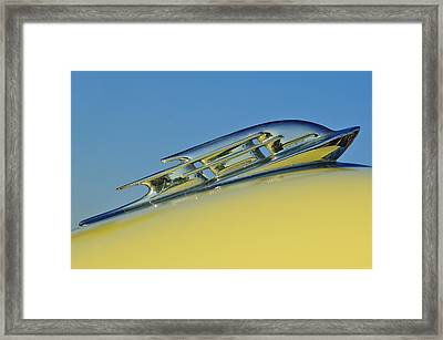 1953 Plymouth Hood Ornament 2 Framed Print by Jill Reger
