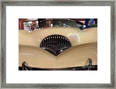 1954 Kaiser Darrin - 7d17359 Framed Print by Wingsdomain Art and Photography