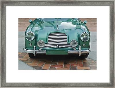 1955 Aston Martin Framed Print by Jill Reger