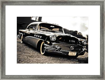 1956 Buick Super Series 50 Framed Print by Phil 'motography' Clark