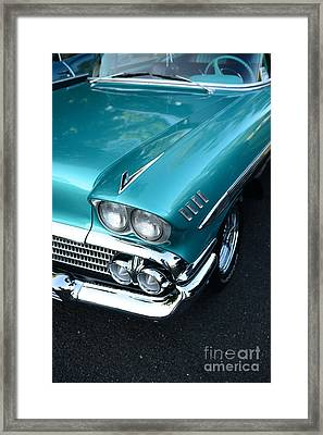 1958 Chevy Belair Front End 01 Framed Print by Paul Ward
