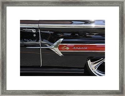 1960 Chevy Impala Framed Print by Mike McGlothlen