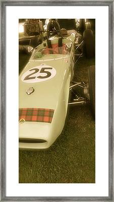 1960 Lotus Climax 18 Framed Print by John Colley
