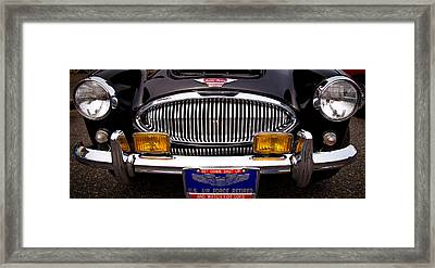 1962 Austin Healey 3000 Mkii Framed Print by David Patterson