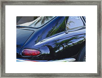 1963 Apollo Taillight Framed Print by Jill Reger