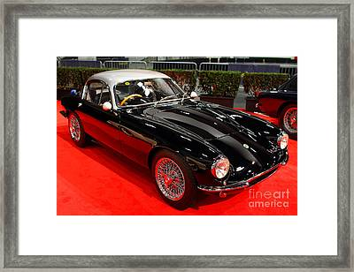 1963 Lotus Elite Se . 7d9185 Framed Print by Wingsdomain Art and Photography