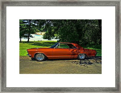 1965 Buick Rivera Framed Print by Tim McCullough