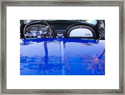 1965 Chevrolet Corvette Sting Ray Framed Print by Jill Reger