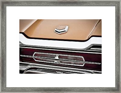 1966 Ford Thunderbird Framed Print by Gordon Dean II