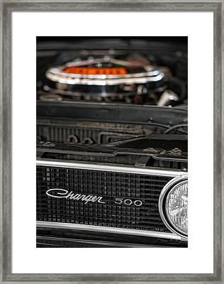 1969 Dodge Charger 500 Framed Print by Gordon Dean II