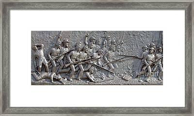 1st Minnesota Monument At Gettysburg Framed Print by Randy Steele