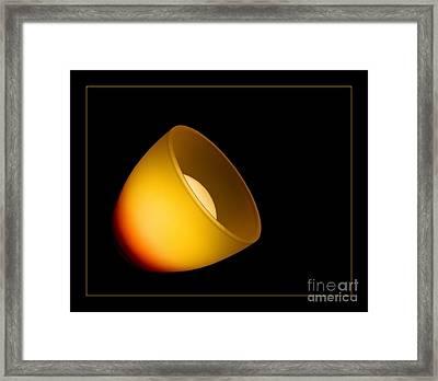 Lamps Framed Print by Odon Czintos