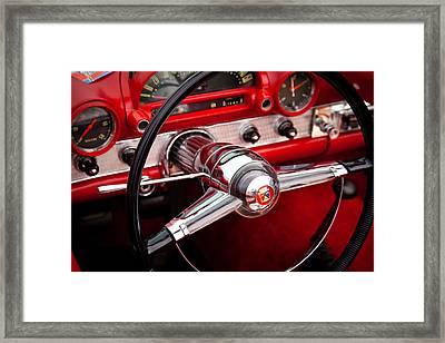 1955 Ford Thunderbird Framed Print by David Patterson