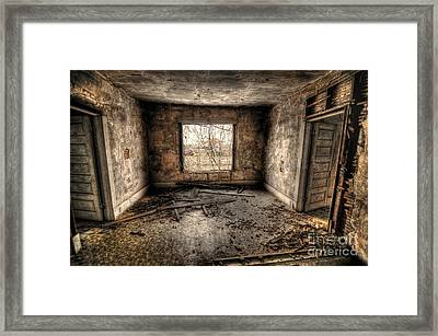Abandoned Framed Print by Miguel Celis