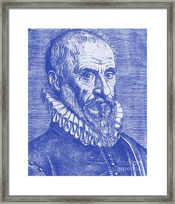 Ambroise Paré, French Surgeon Framed Print by Science Source