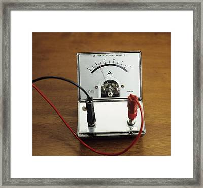 Ammeter Framed Print by Andrew Lambert Photography