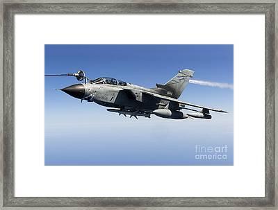 An Italian Air Force Tornado Ids Framed Print by Gert Kromhout