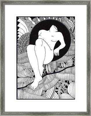 Art Framed Print by Marek Burbul