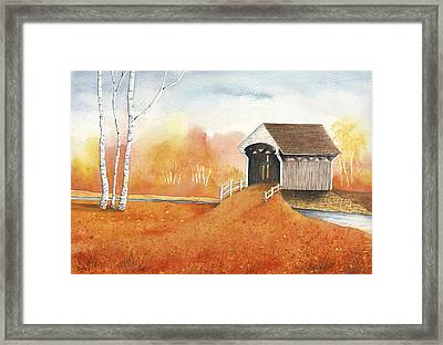 Autumn Color Framed Print by Greg Dolan
