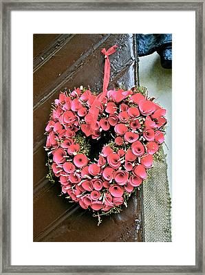 Be My Valentine Framed Print by Dorota Nowak