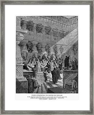 Belshazzars Feast Framed Print by Granger