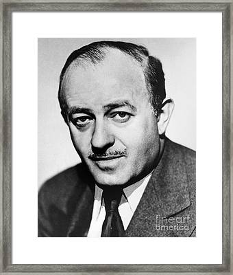 Ben Hecht (1894-1964) Framed Print by Granger