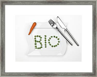 Bio Framed Print by Joana Kruse