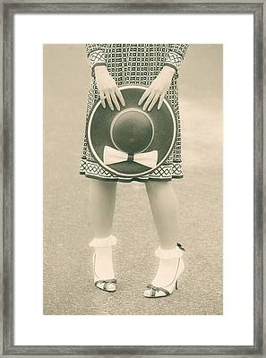Black And White Framed Print by Joana Kruse