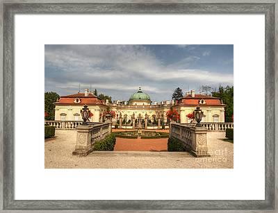 Buchlovice Castle Framed Print by Michal Boubin
