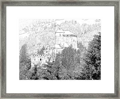 Burg Reifenstein Sterzing Italy Framed Print by Joseph Hendrix