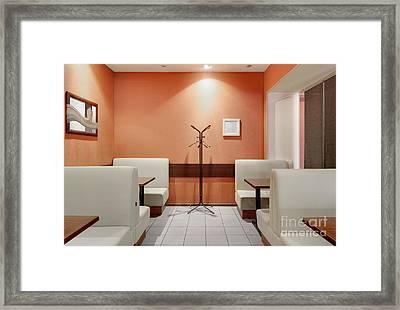 Cafe Dining Room Framed Print by Magomed Magomedagaev