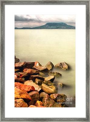 Calm Framed Print by Odon Czintos