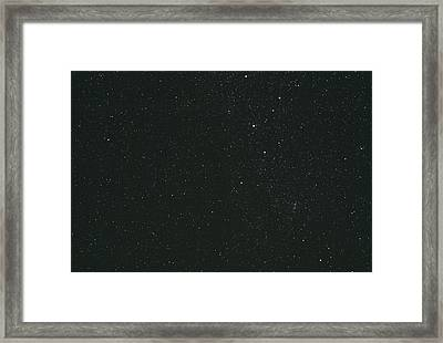 Cassiopeia Constellation Framed Print by John Sanford