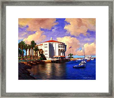 Catalina Uso's Framed Print by Snake Jagger