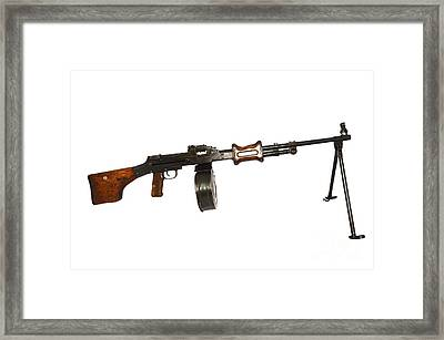 Chinese Type 56 Light Machine Gun Framed Print by Andrew Chittock