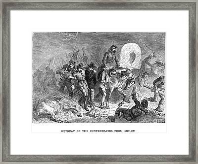 Civil War: Shiloh, 1862 Framed Print by Granger