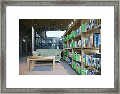 Community Office Library Framed Print by Jaak Nilson