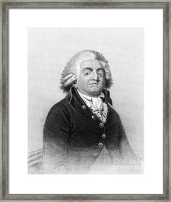 Comte De Mirabeau Framed Print by Granger