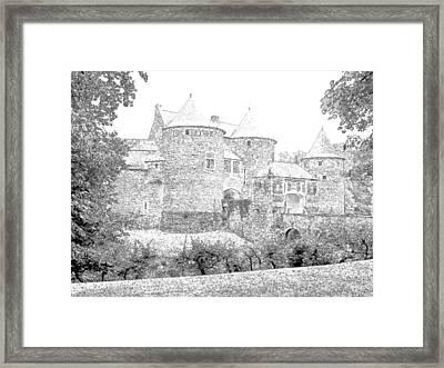 Corroy Le Chateau Gembloux Belgium Framed Print by Joseph Hendrix