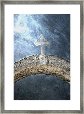 Cross Framed Print by Joana Kruse