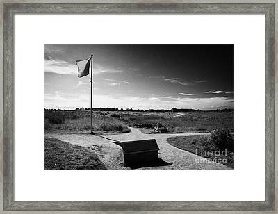 Culloden Moor Battlefield Site Highlands Scotland Framed Print by Joe Fox