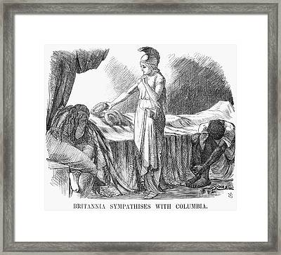 Death Of Lincoln, 1865 Framed Print by Granger