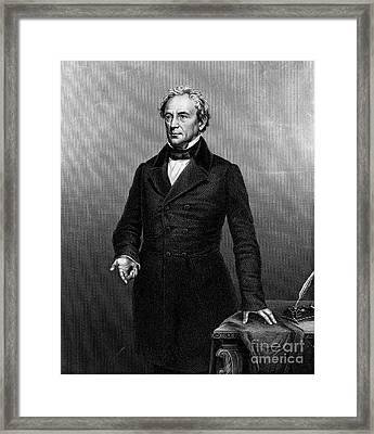 Edward Everett (1794-1865) Framed Print by Granger