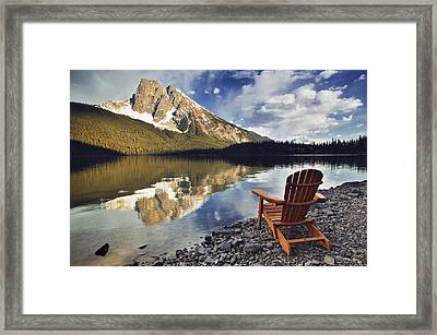 Emerald Lake, Yoho National Park Framed Print by Darwin Wiggett