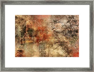 Entropy Framed Print by Christopher Gaston
