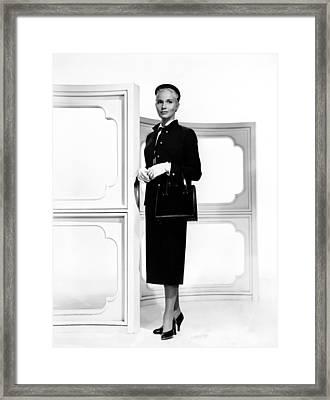 Eva Marie Saint, Ca. 1956 Framed Print by Everett